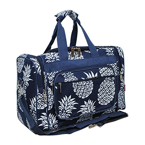 Southern Pineapple Print NGIL Canvas Carry on 20