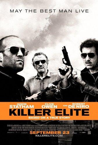 KILLER ELITE MOVIE POSTER 2 Sided ORIGINAL 27x40 JASON STATHAM (Robert De Niro Jason Statham Clive Owen)