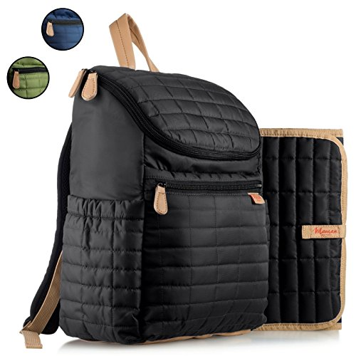 quilted diaper bag - 5