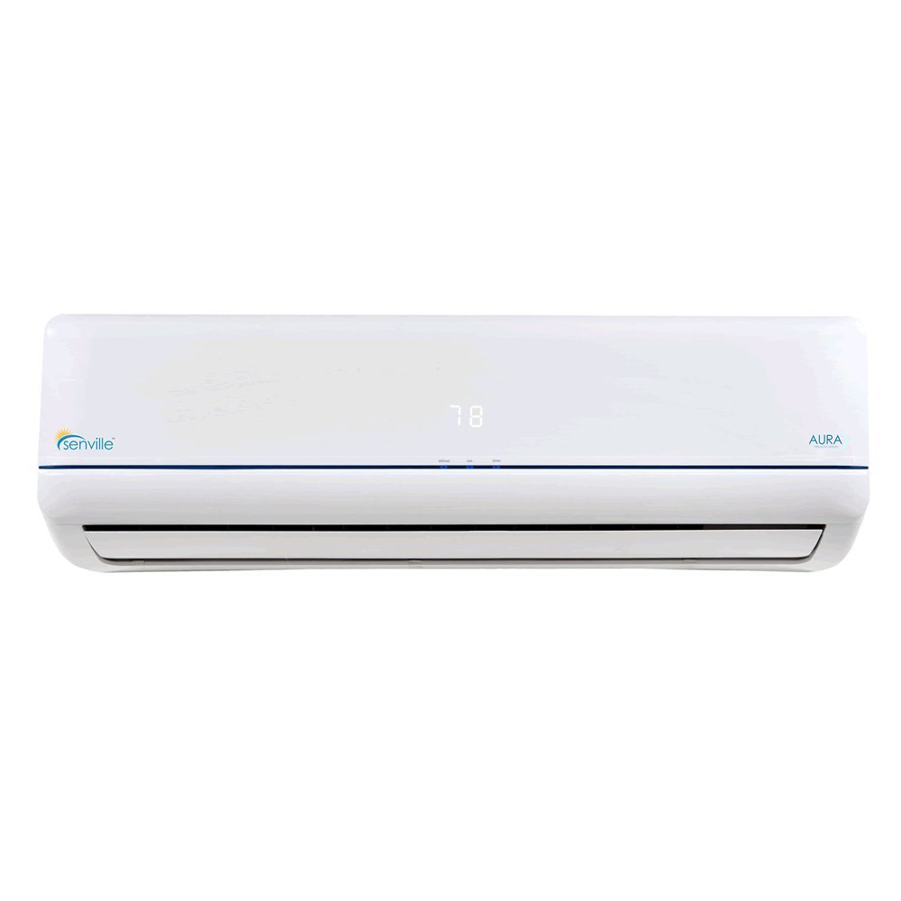 Senville 12000 BTU SENA-12HF Z Energy Star Mini Split Air Conditioner Heat Pump, White