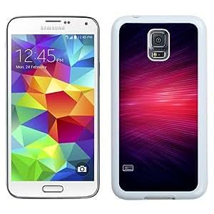 NEW Unique Custom Designed Samsung Galaxy S5 I9600 G900a G900v G900p G900t G900w Phone Case With Red Lasers Overlap_White Phone Case wangjiang maoyi