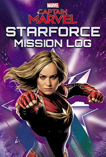 Marvel Captain Marvel Starforce Mission Log (Replica Journal)