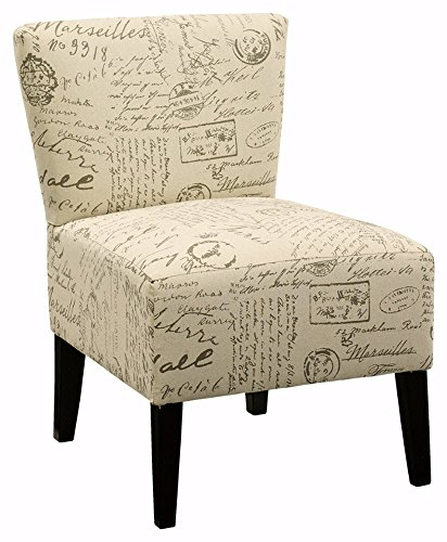 Ashley Furniture Signature Design - Ravity Accent Chair - Contemporary Style - Flared Back - - Style Ashley