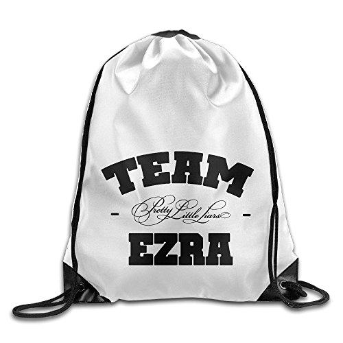 Bekey Pretty Little Liars Team Ezra Drawstring Backpack Sport Bag For Men & Women For Home Travel Storage Use Gym Traveling Shopping Sport Yoga Running