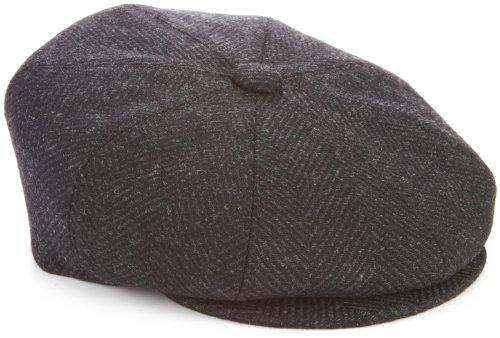 Kangol Men's Tweed Ripley Cap, Aspen Herringbone, Large