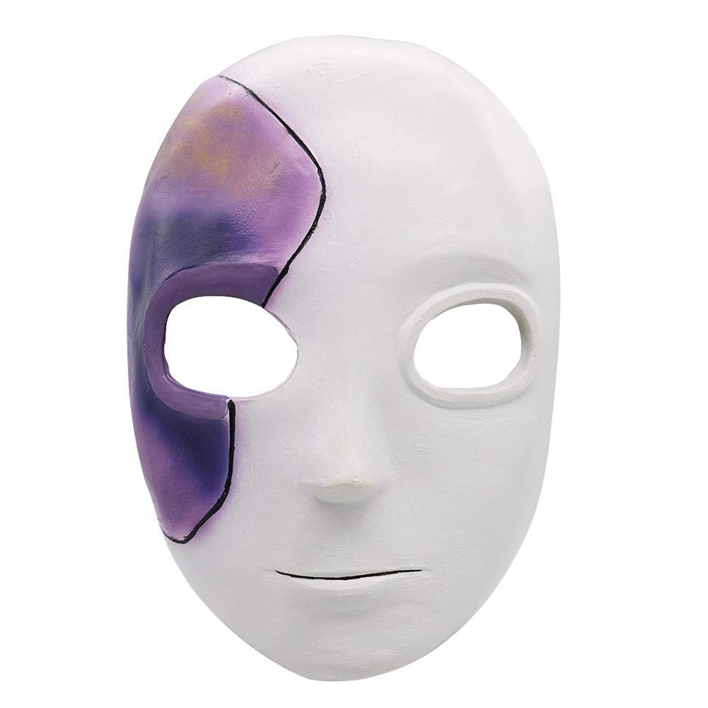 Sally Face - Sally Mask Wig Latex Helmet Halloween Cosplay Puntelli per Adulti