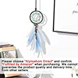 Alynsehom Dream Catcher Car Interior Rearview