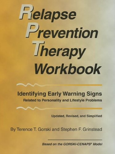 Relapse Prevention Therapy Workbook, Revised Edition