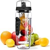 Wasserflasche, Omorc [BPA-frei Tritan] Kunststoff Trinkflasche Sport F