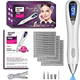 warts Wart Removal Pen 2018 UV Lamp & 9 Speed Professional Kit Pro Spot Beauty Tool Removes Skin Tags, Dark Spots, Freckles, Nevus & Tattoo