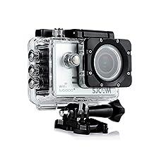 SJCAM SJ5000 Plus 16MP 1080P Full HD Action Sport Camera, Waterproof to 98', Silver