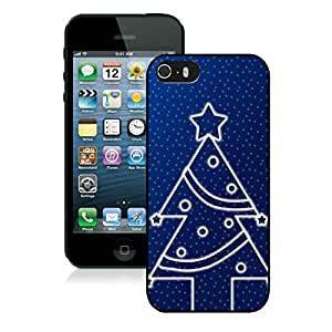 Best Buy Iphone 5S Protective Cover Case Christmas Tree iPhone 5 5S pc hard Case 17 Black