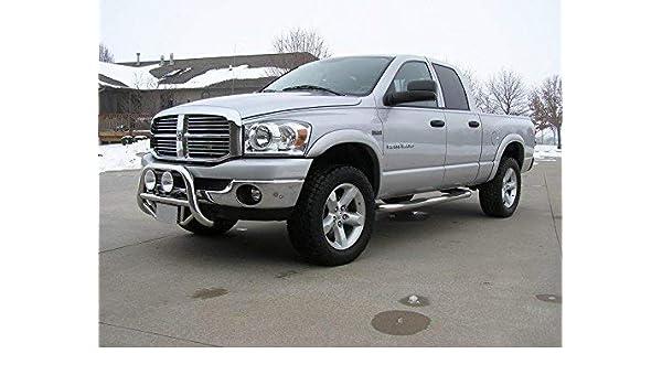 For 02-08 Dodge Ram 1500 03-09 Ram 2500 3500 Pickup Truck Bolt On Style 4pcs Black Fender Flare Kit