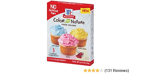 McCormick Color From Nature, 0.51 oz: Amazon.com: Grocery & Gourmet Food