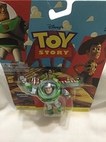 """Thinkway Toys Toy Story Buzz Lightyear 4"""" Bendable Figure"""