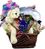 Rest and Renewal Spa and Gourmet -Women's Birthday, Holiday, or Mother's Day Gift Basket Idea