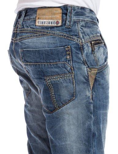 Haroldtz Uomo Wash blau Wash Jeans Timezone Rough Blu Slim Midwest midwest PZFn5q