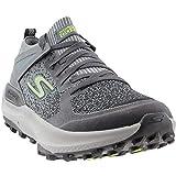 Skechers Performance Men's Go Run Max Trail 5 Ultra Charcoal/Lime 11 D US