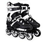 Inline Skates For Men Unisex Racing PP Material New Black , 39