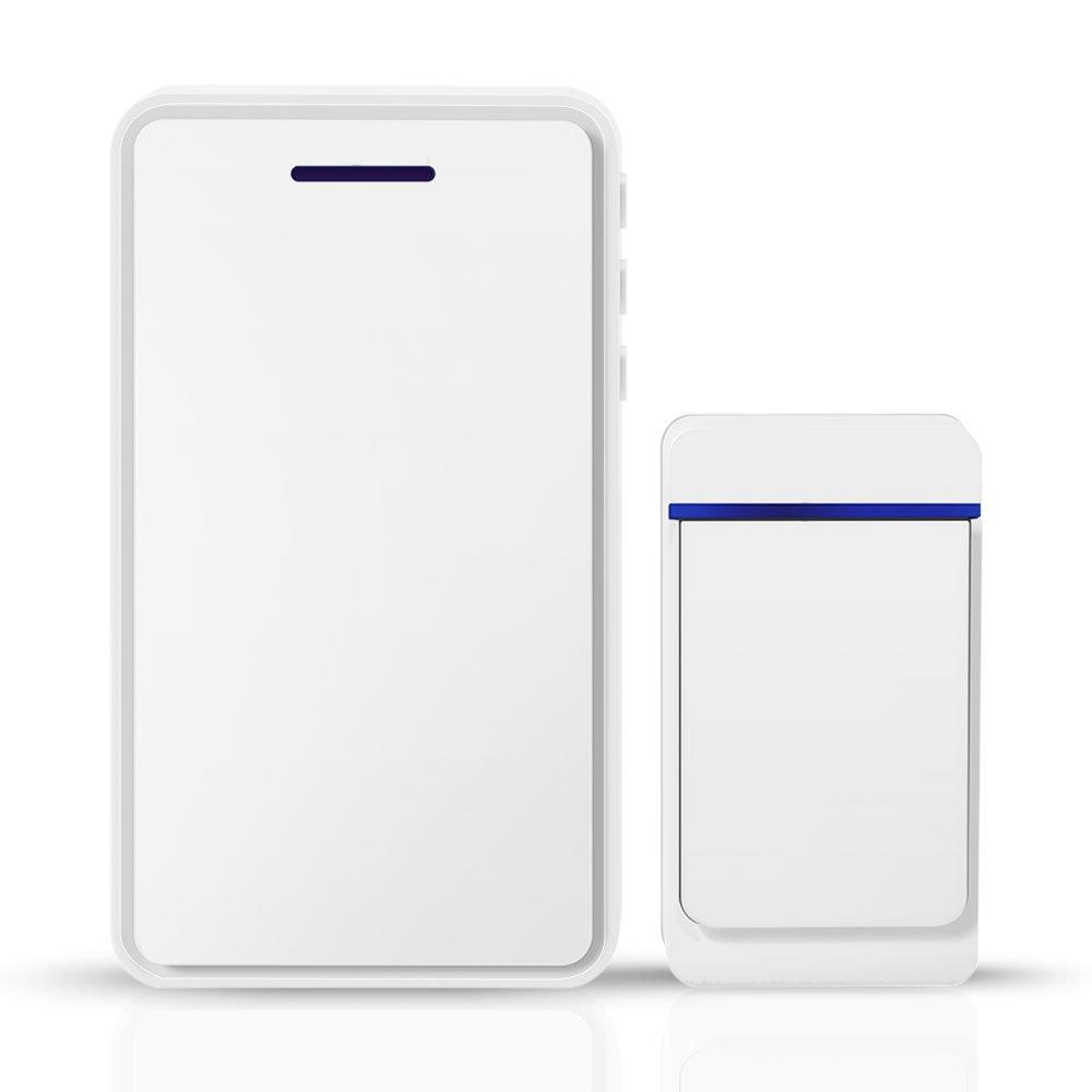 DIGOO DG-ZTA In/Outdoor 433MHz Wireless Doorbell Waterproof 52 Melodies 5 Levels Smart Home Doorbell Can Work with SB-XYA 1080P Video Doorbell