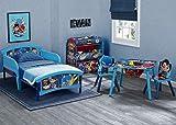 Delta Children Plastic Toddler Bed, DC Super