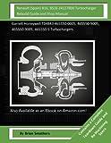 Renault (Spain) B16, BS16 24117800 Turbocharger Rebuild Guide and Shop Manual: Garrett Honeywell T04B43 465550-0005, 465550-9005, 465550-9005, 465550-5 Turbochargers