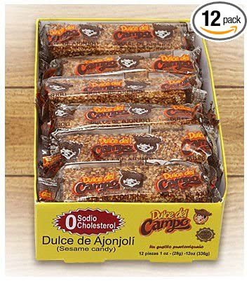 Sesame Candy (Dulce de Ajonjoli) Puerto Ricos own hard candy - 1 oz bar