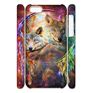 LIULAOSHI Wolf Dream Catcher Phone Case for iphone5c 3D [Pattern-5] by Maris's Diary