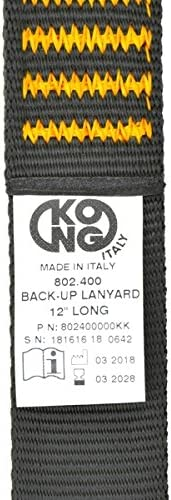 KONG Back-Up Locking Device with Ovalone Carbon Auto Block ANSI