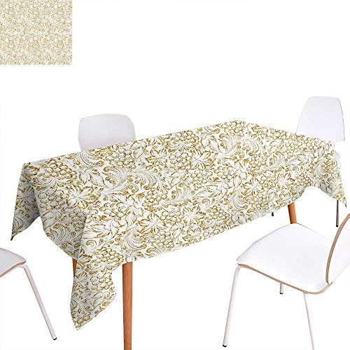 Best deals on victorian baby shower invitations products familytaste kitchen decor printed tablecloth golden grape vine classic victorian pattern invitation background wine dine illustration rectangle tablecloth filmwisefo