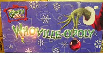 amazon com whoville opoly toys games