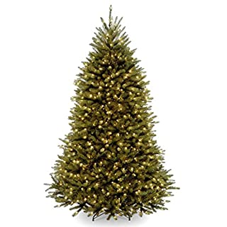 National Tree Company lit Artificial Christmas Tree Includes Pre-strung White Lights and Stand Dunhill Fir-6 ft