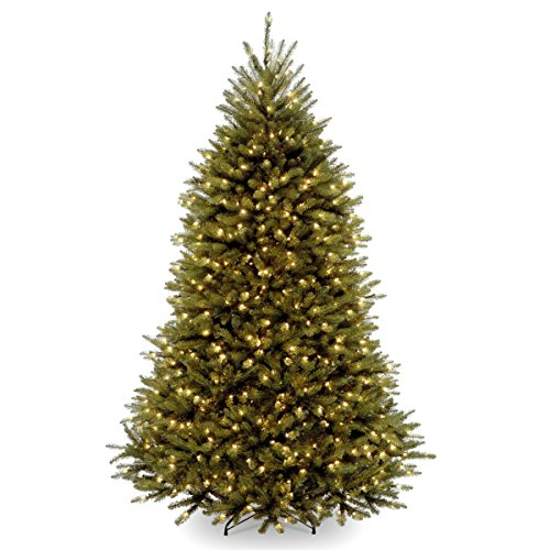 National Tree 6 Foot Dunhill Fir Tree with 600 Clear Lights ()