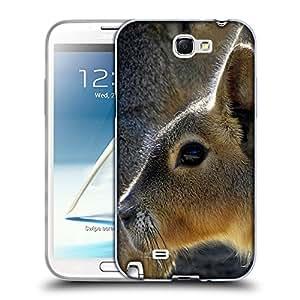 Super Galaxy Coque de Protection TPU Silicone Case pour // V00000043 Canguro // Samsung Galaxy Note 2 II N7100