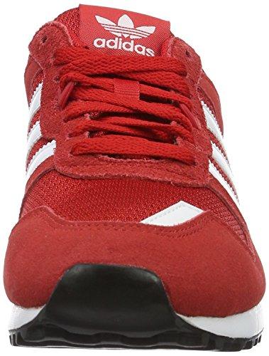 adidas Zx 700, Zapatillas de Deporte para Hombre Rojo (Escarl / Ftwbla / Negbas)