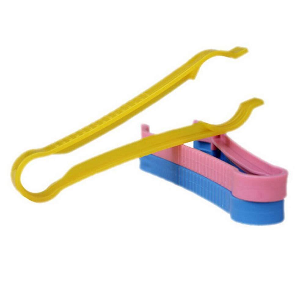 FADACAI 3 St/ücke Multifunktions Skid Bottle Clips Anti-Rutsch-Babyflasche Zangen zuf/ällige Farbe