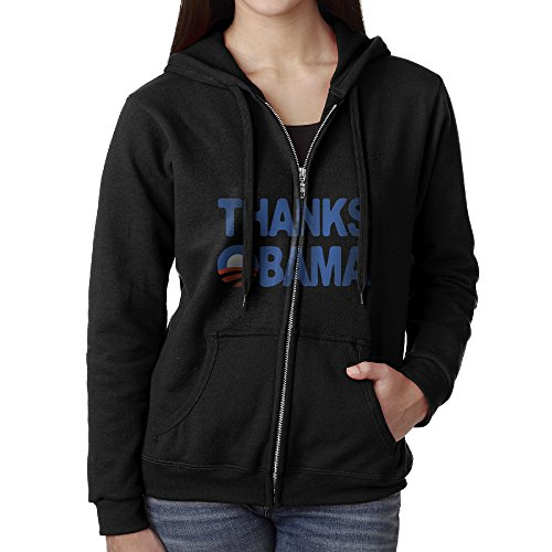 Thanks Obama 2008-2016 Women Sweatshirt Pullover Hoodiecool (President 2008 Hooded Sweatshirt)