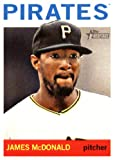 2013 Topps Heritage MLB Trading Card # 20 James McDonald Pittsburgh Pirates