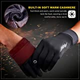 SIMARI Winter Gloves Men Women Touchscreen Running