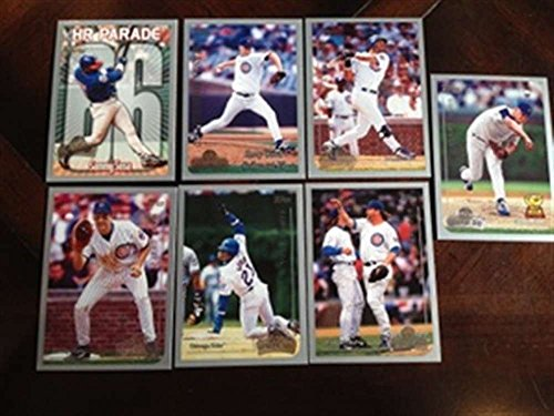 1999 Topps Opening Day Chicago Cubs Team Set 7 Cards MINT