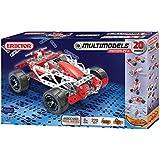 Meccano-Erector - Multimodel - 20 Model Motorized Set, 270 Parts