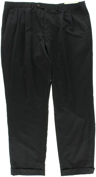 Amazon Com Ralph Lauren Pantalones De Vestir Para Hombre Color Azul Marino 44 X 30 Clothing