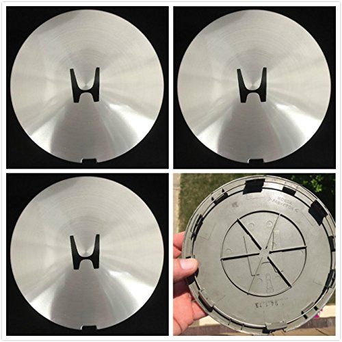 Brand NEW 4 Pieces Set Honda Civic Accord Chrome wheel center Hub caps 44742-SM4-A300 63711, 63731, 63735, 63740, 63742 1990,1992,1993,1994, 1995 1996 1997 US Fast shipment (Civic Center For Caps Honda)
