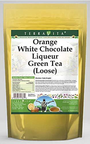 Orange White Chocolate Liqueur Green Tea (Loose) (8 oz, ZIN: 540112) - 2 Pack