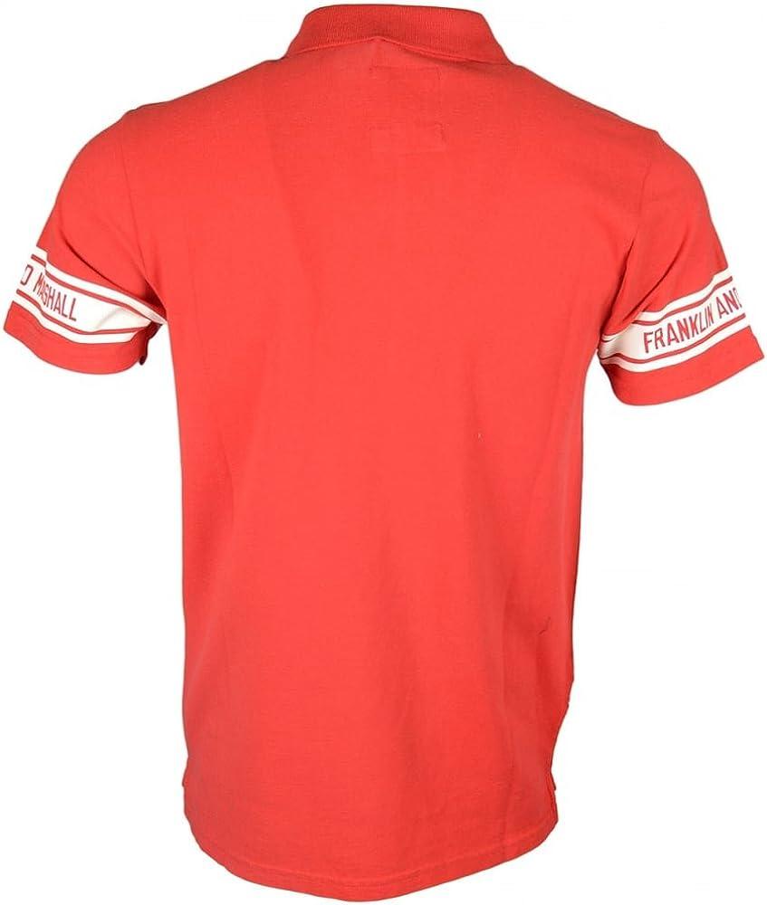 Franklin & Marshall - Polo - para Hombre Rojo Rosso XX-Large ...
