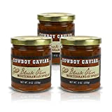 Z Specialty Foods Cowboy Caviar Certified Kosher Vegetable Pate Black Olive Mediterranean 9oz 3 pack