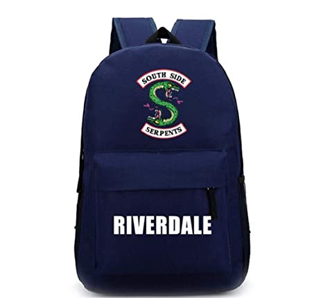 a78f560adb Amazon.com  Xcoser Southside Serpents Jughead Backpack for Boys Girls  Student Schoolbag Bookbag  Toys   Games