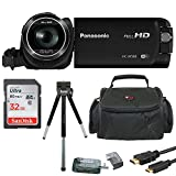 Panasonic HC-W580K Full HD 1080p Camcorder with Twin Camera & 32GB SD Card Bundle