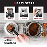 Chefman Coffee Grinder Powerful 250 Watt Electric