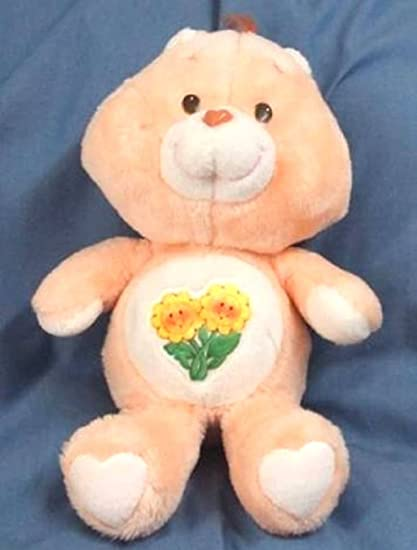 Message Recorder Stuffed Animals, Amazon Com Vintage Care Bears Plush 13 Friend Bear From 1983 Toys Games